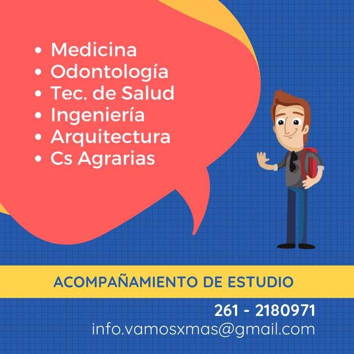 CLASES - Acompañamiento PREuniversitarios: MEDICINA & INGENIERÍA