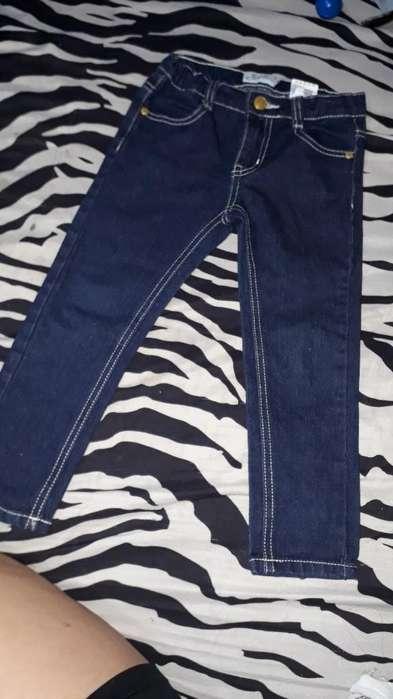 Jeans Talla 3t de Niña