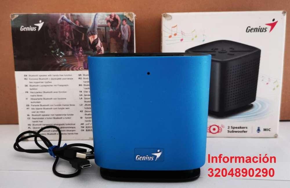 Parlante Genius SP-925BT 10-Watt altavoz Bluetooth.