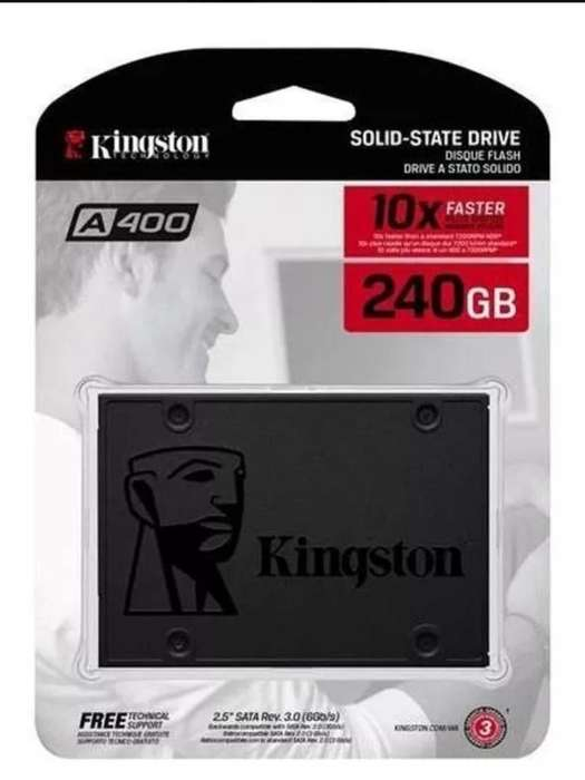 Disco Solido de 240 Gb Kingston