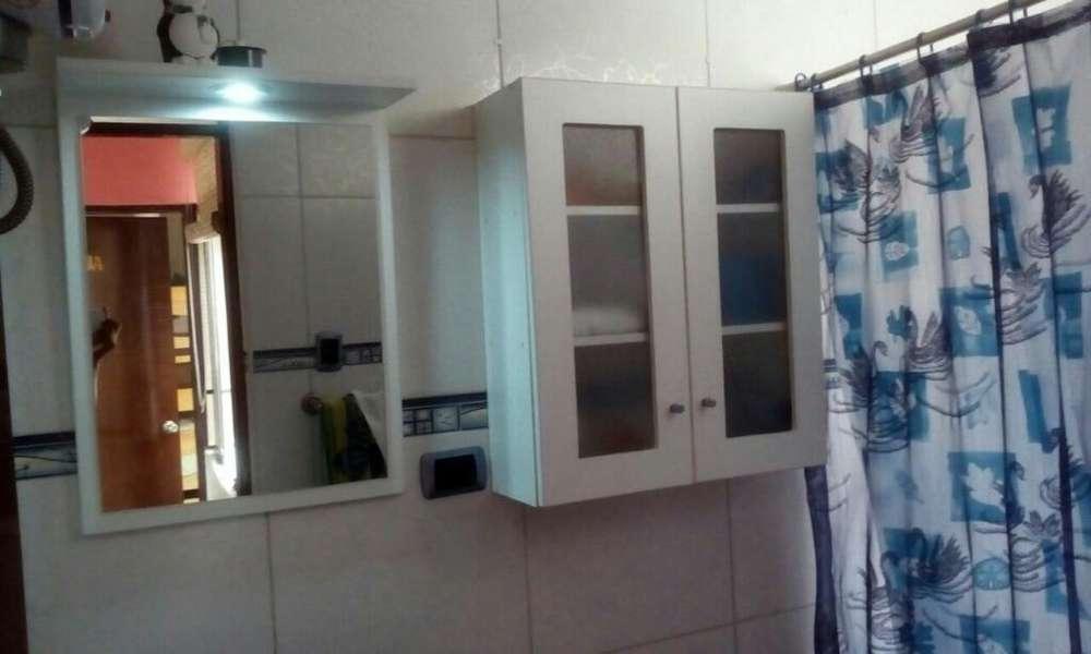 Baño Espejo con Luz Y Estante