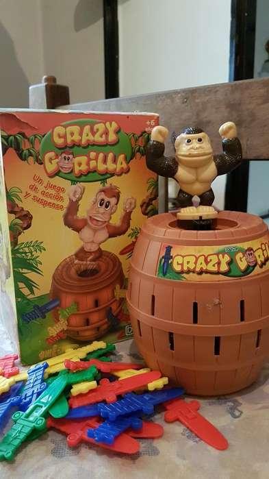 Vendo Juego de Crazi Gorila, Po Co Uso