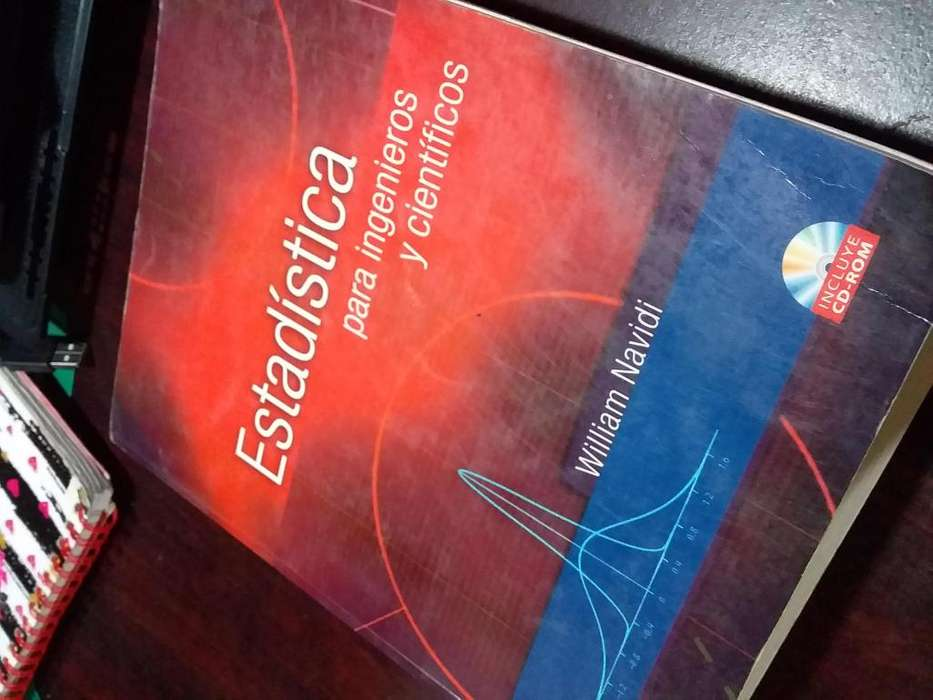 Estadística para ingenieros y científicos
