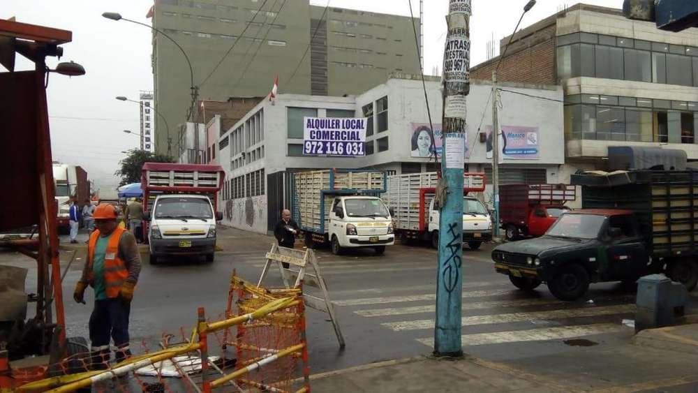 Alquiler local comercial 497 m2 EN GAMARRA LA VICTORIA
