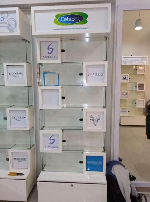 Vendo O Permuto Muebles para Exhibición