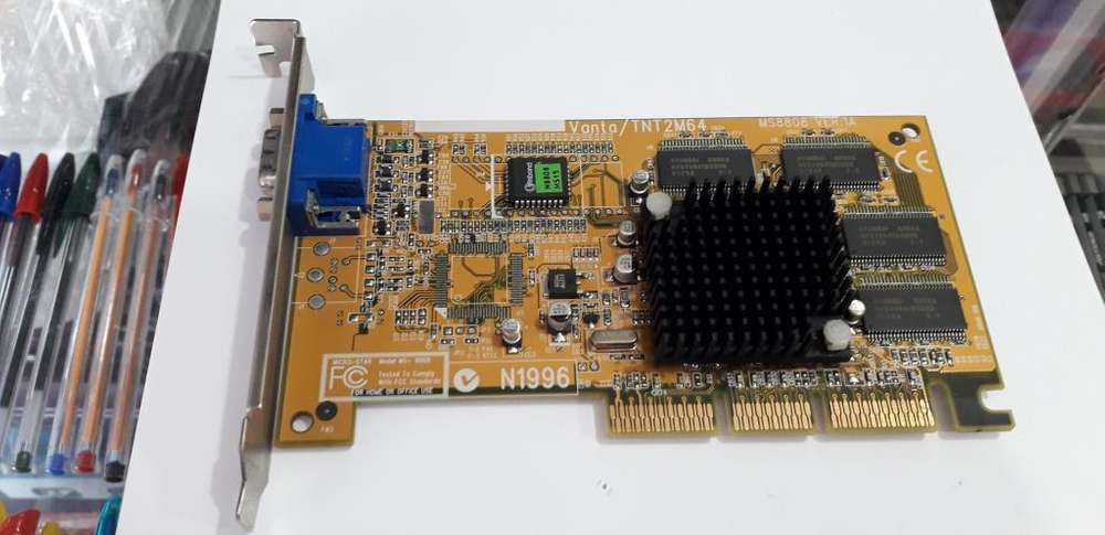 TARJETA DE VIDEO AGP MSI 8808 32 MB EN PERFECTO ESTADO