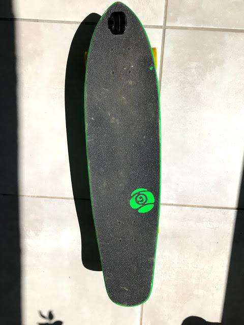 Longboard Sector 9 The Wedge Verde 31 Cruiser Complete