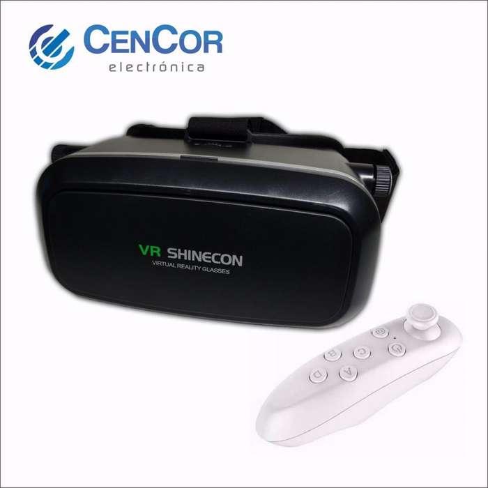 Casco De Realidad Virtual/vr Box Shinecon con control Bluetooth!