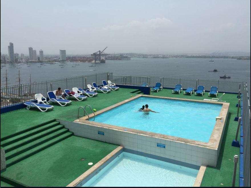 Cartagena Contiguo Hotel Decameron Playa Bocagrande Apto Temporada 2/2, Piscina, Parqueadero