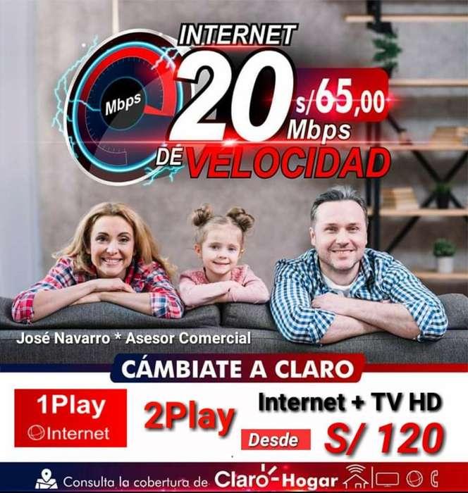 Internet Fijo Ilimitado Y Television Hd