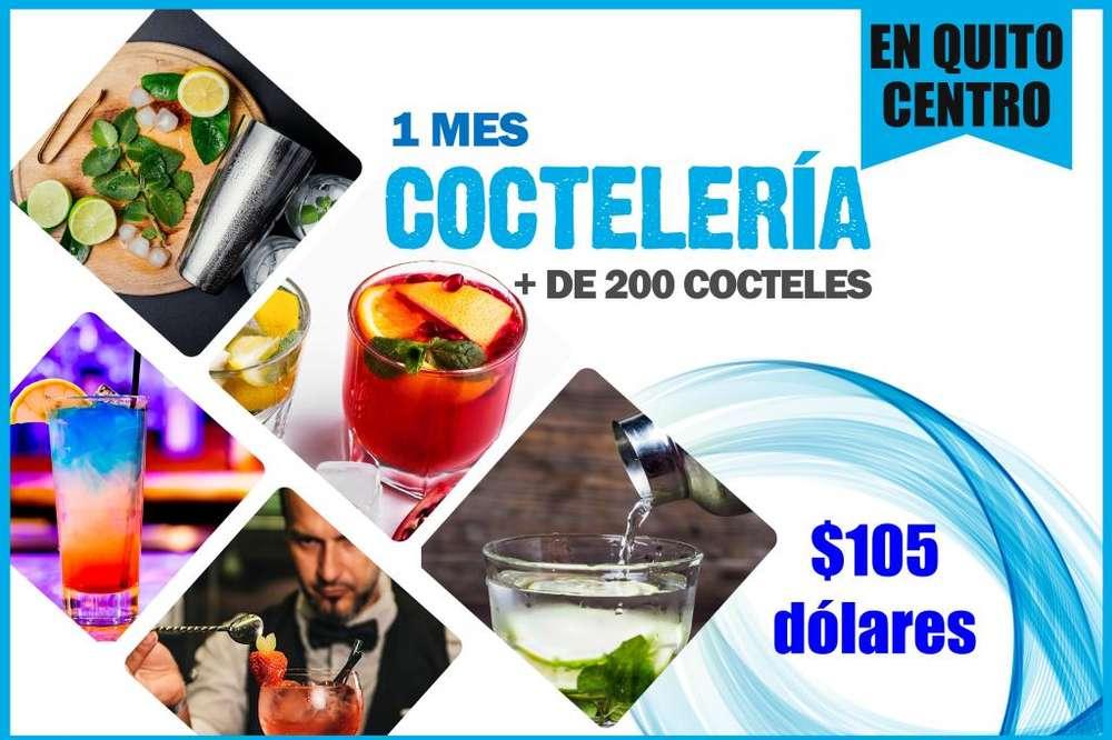CURSO DE COCTELERÍA MÁS DE 200 COCTELES Y TÉCNICAS BARMAN