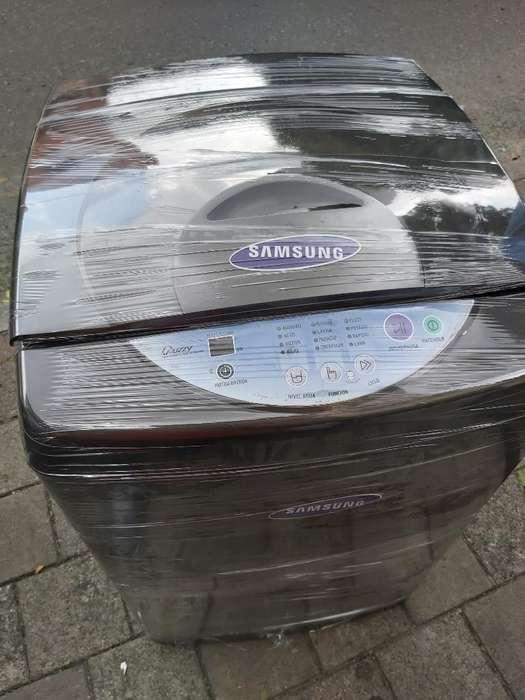 La A lavadora Samsung 17 Libras