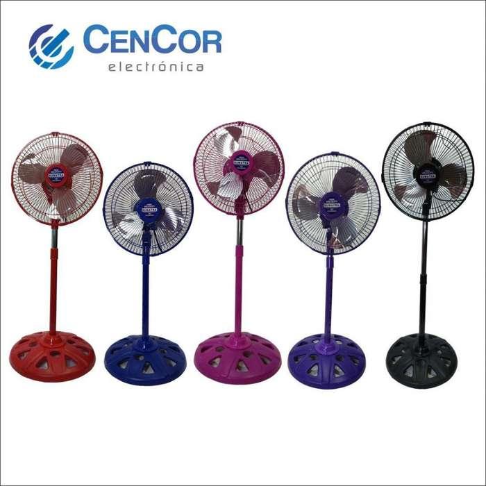 Ventilador Pequeño 10 Pulgadas 2 En 1 Paletas De Aluminio! CenCor Electrónica!