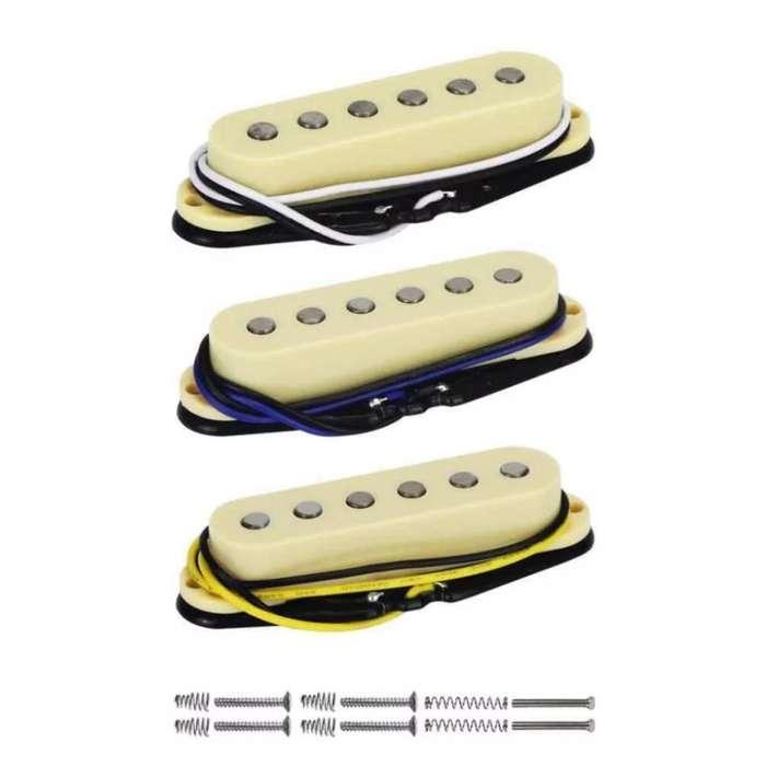 Pastillas Alnico V Nuevas para Guitarra