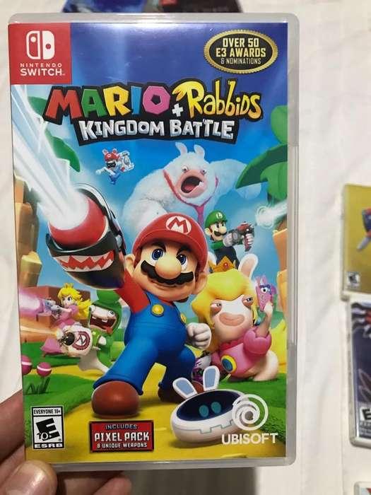 Mario & Rabbids Switch Usado