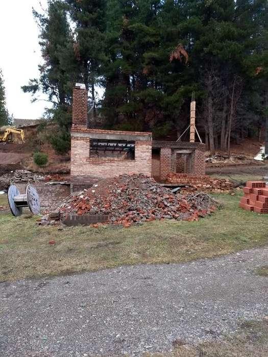 VENTA <strong>terreno</strong> CON CASA EN CONSTRUCCION