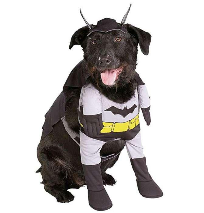 Ropa de perro disfraz Batman XS