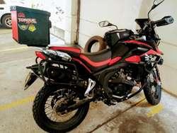 Vendo Moto Tt 250, Lista para Rodar.