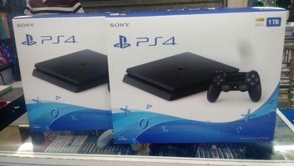 Consolas Nuevas Ps4 Slim 1 Tera
