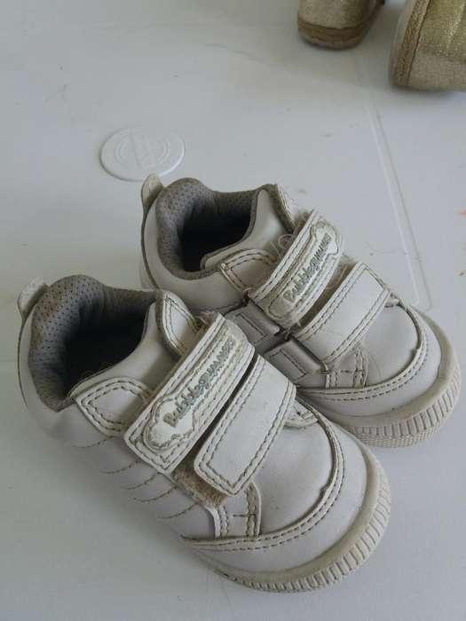 Zapatos Unisex Talla 22