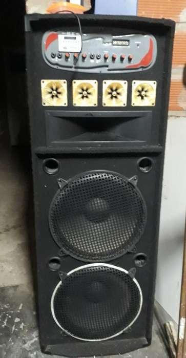 Columna de Sonido C/radio Usv Bluetooth