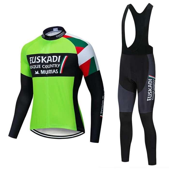 Conjunto de Ciclismo Euskadi Talla L-xl