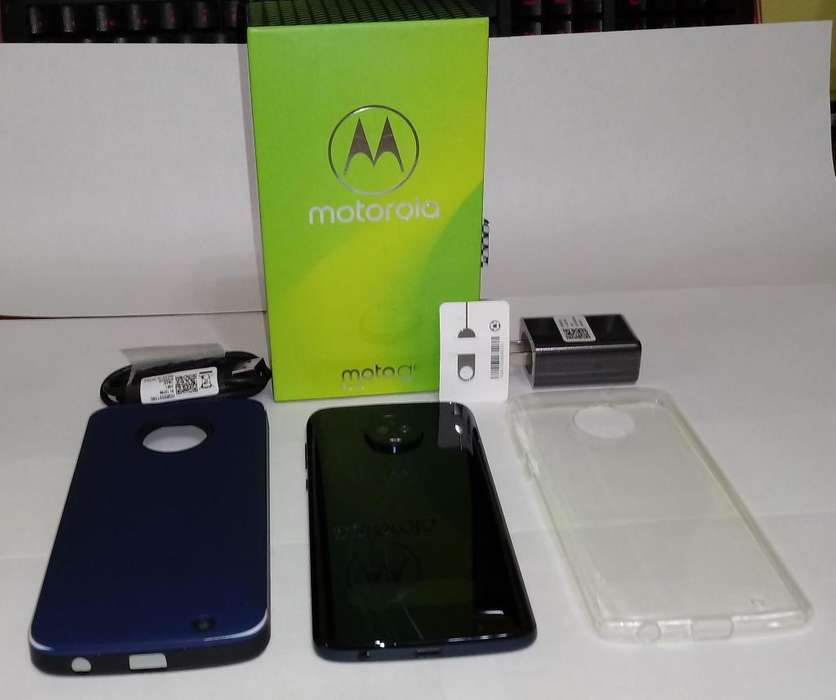 CELULAR Libre Motorola Moto G6 Plus xt 1926 64gb/4gb Ram Dual Sim Excelente Estado!