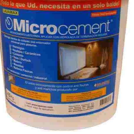 MICROPISOS MICROCEMENTO APLICADO COMPLETO PARA 12 MTS 2