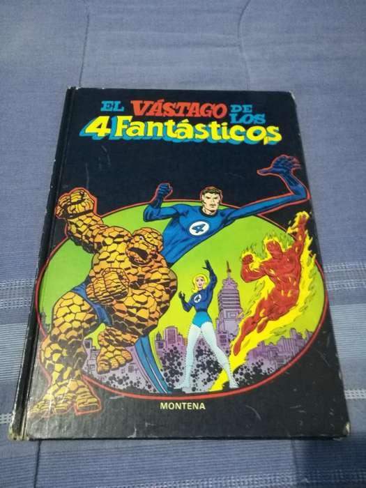 Libro Comic de Marvel