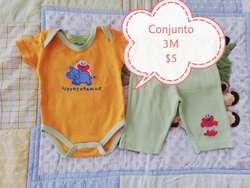 Ropa de Bebe Usada de 0 a 3 Meses