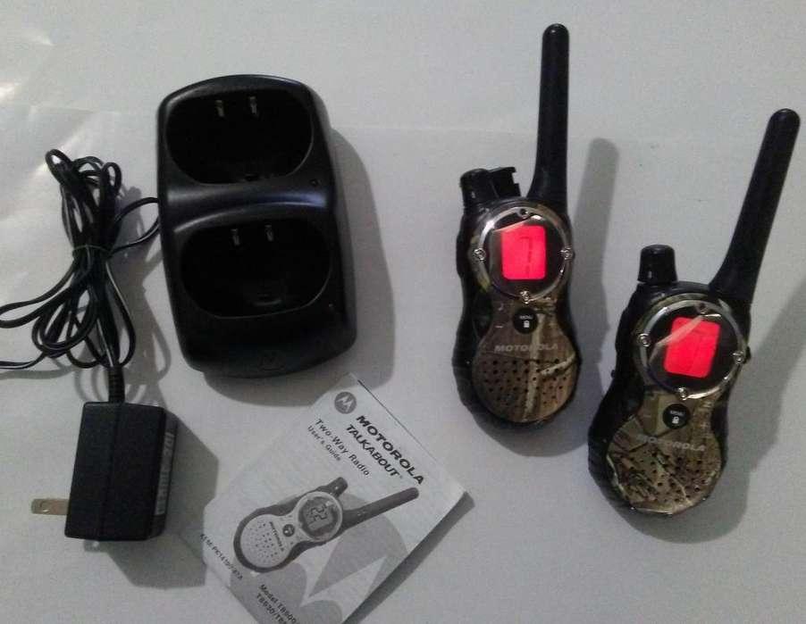 Radios portátiles Talk About Motorola