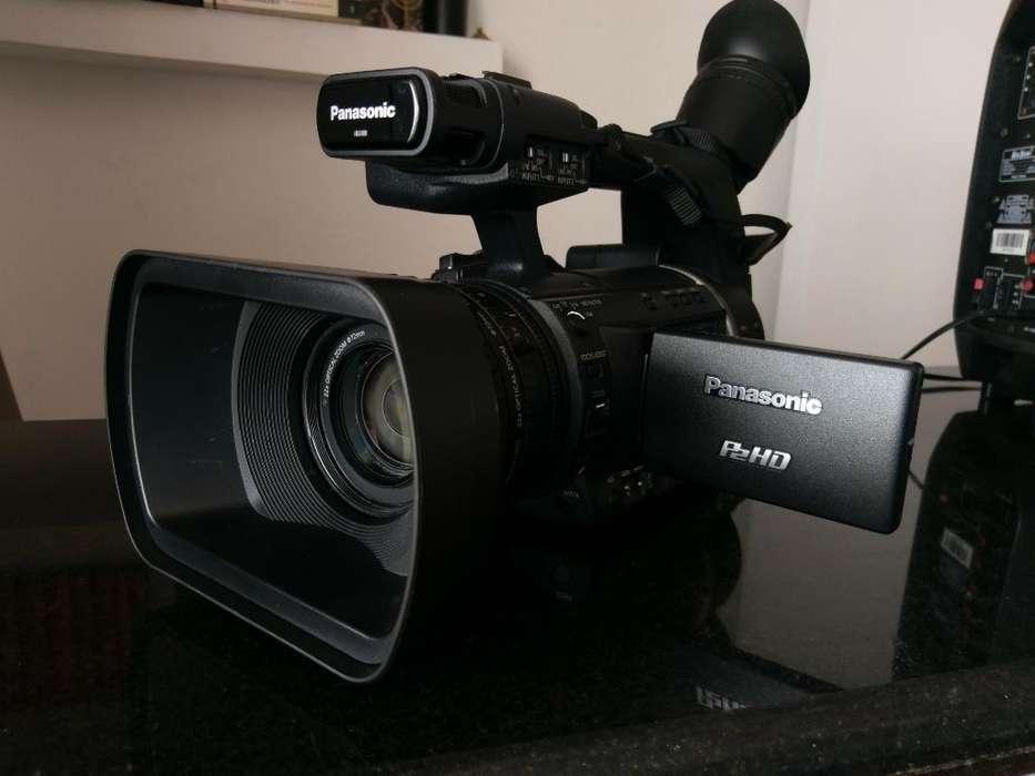 Cámara Panasonic Ag-hpx250p de Tv