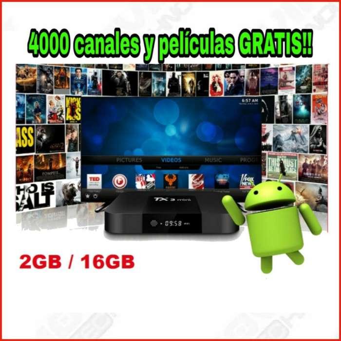 Tv Box/ Smart Tv / Tx3 Mini Android 7.1 2gb / 16gb 4k