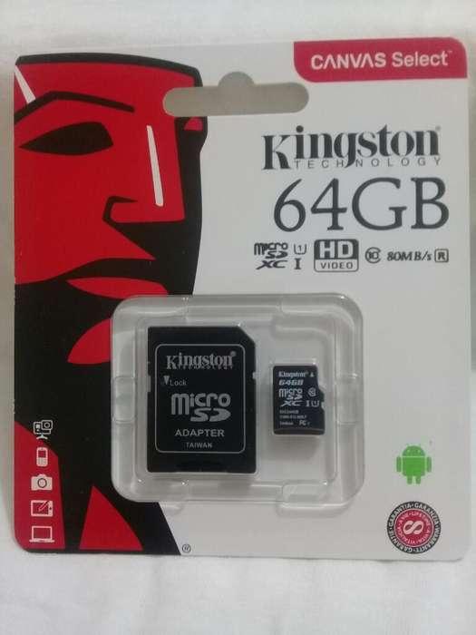 Micro Sd 64gb Selladas