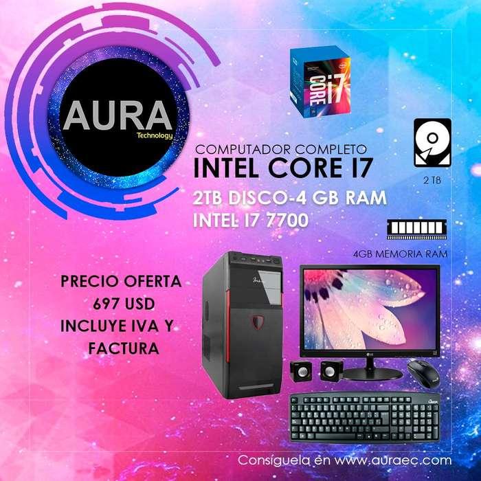 Computador Completo Core I7 7700 2tb/4gb