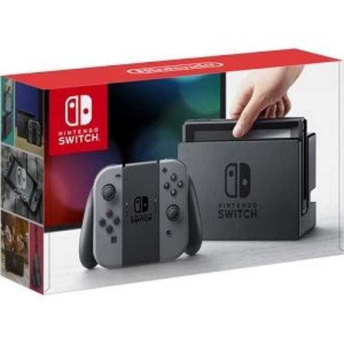 Nintendo Switch Version Negro Oferta