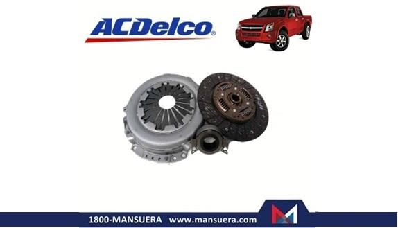 KIT EMBRAGUE ACDELCO CHEVROLET DMAX 2.5 DIESEL