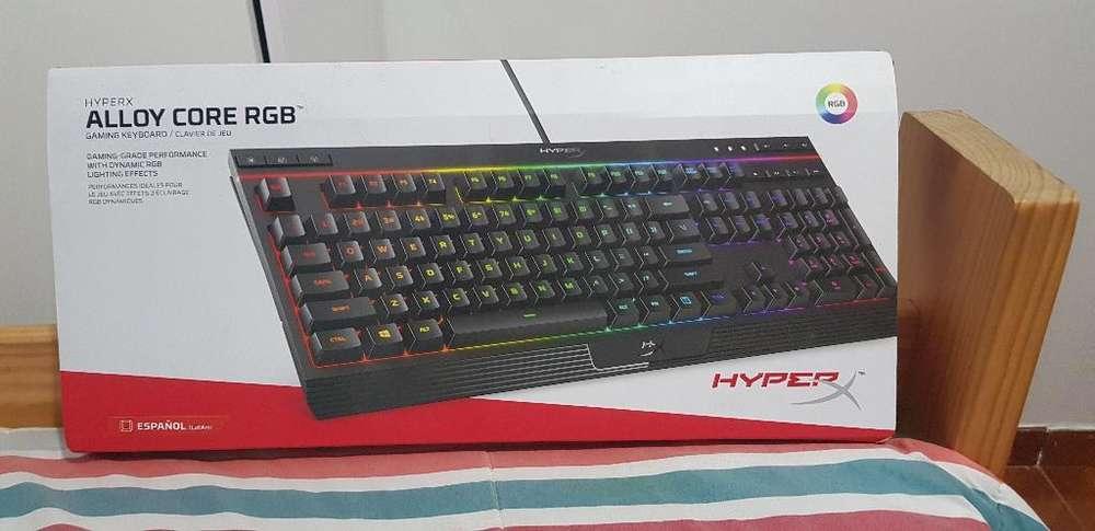 Se Vende Teclado Hyperx Rgb