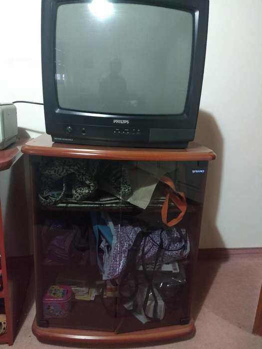 Mueble y TV 21p