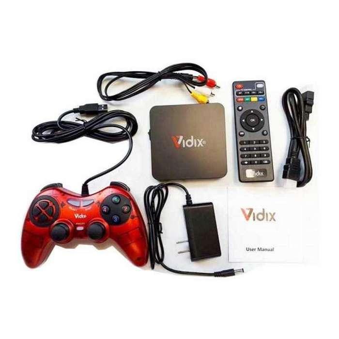 Convierte tu TV en Smart TV con TVBOX Consola De Juegos Android Tv Netflix Control