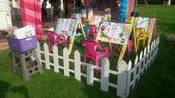 Taller de Pintura para Fiestas Infantile