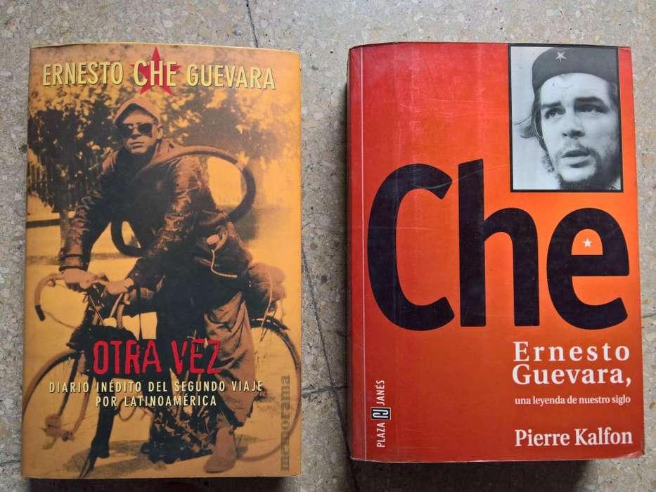 CHE GUEVARA LIBROS BIOGRAFICOS DE SU VIDA