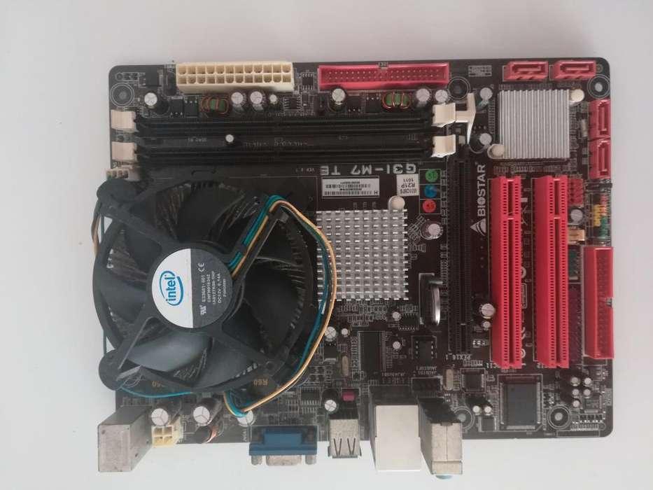 Motherboard Biostar G31-m7 V6.7