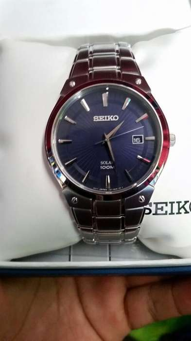 Vendo Reloj Seiko Solar 100m