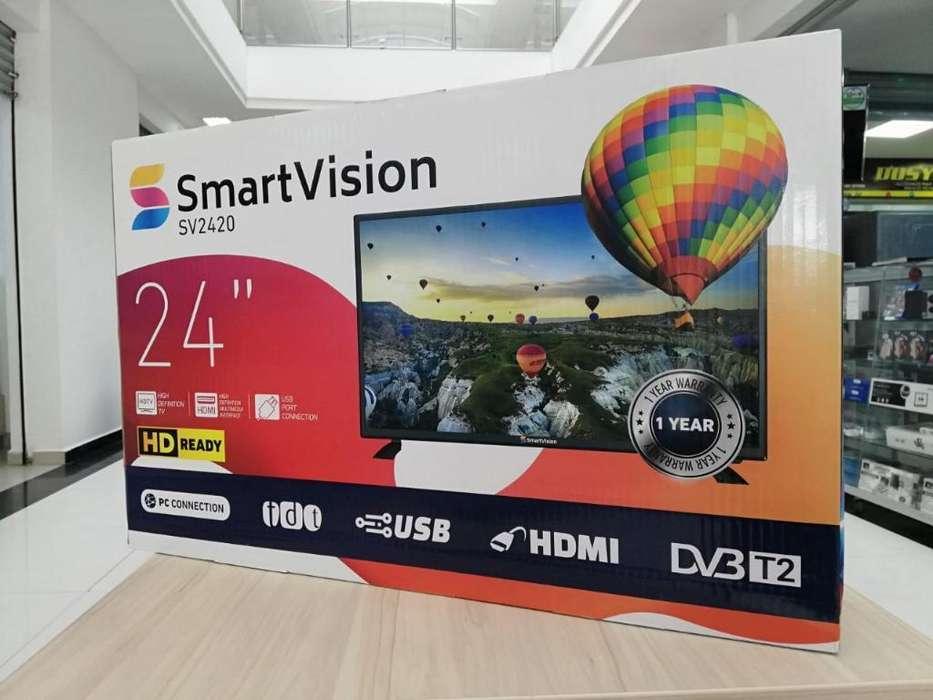Televisor Y Monitor Led Hd de 24