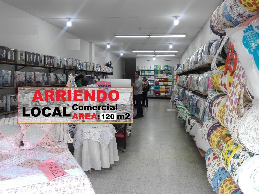 ARRIENDO LOCAL COMERCIAL CENTRO BUCARAMANGA 120 Mt2