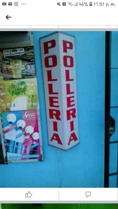 Vendo Cartel Polleria