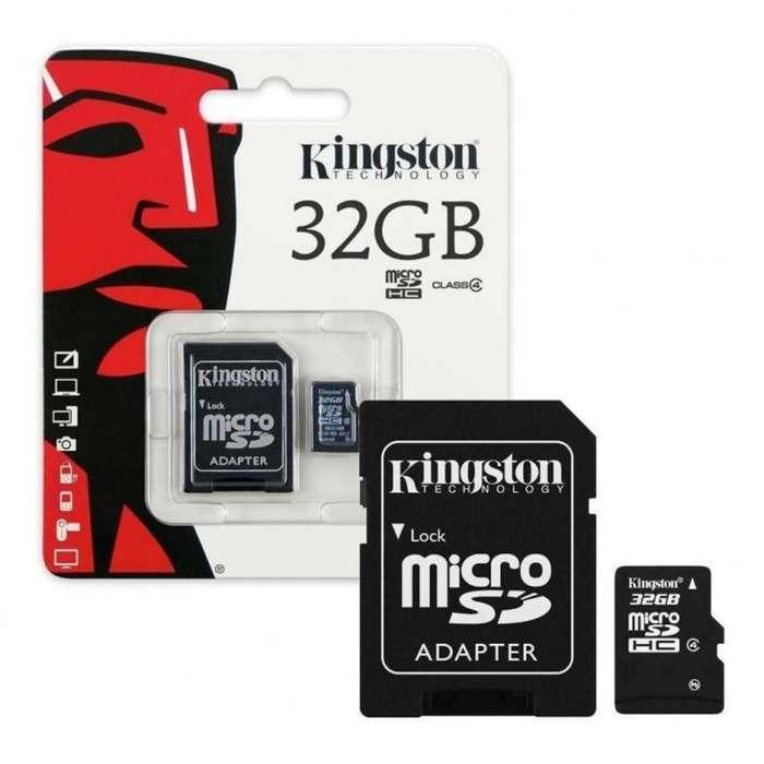 Memorias Micro Sd 32gb Kingston Clase 10
