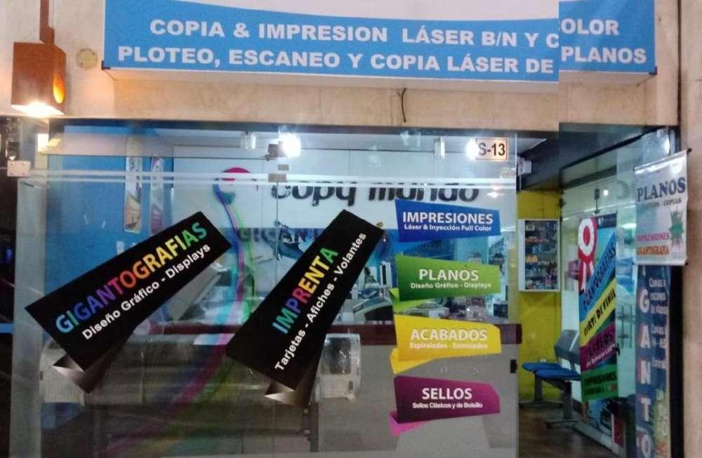 TRASPASO LOCAL DE COPIAS E IMPRESIONES