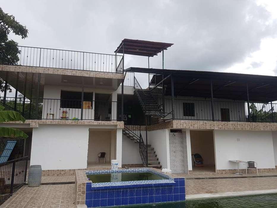 FINCA CHALET EN LA VIA QUIMBAYA FILANDIA